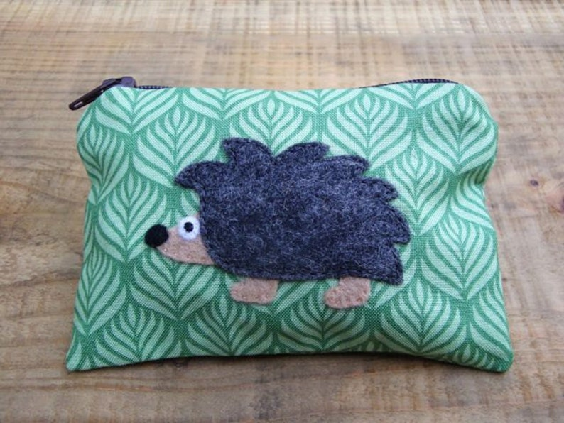 Hedgehog Small Coin Purse Wallet