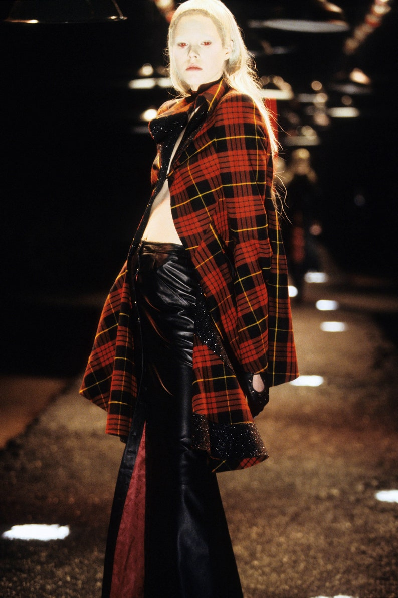 c2d89ae442 Skirt leather Alexander McQueen | Etsy