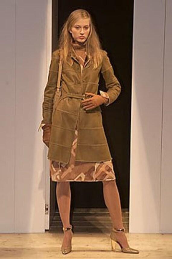 Fendi sheepskin coat