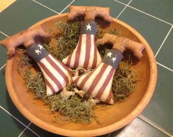Liberty Bell Bowl Fillers -set of 3