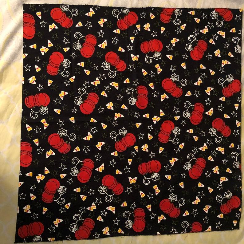 Halloween bandanas 3 pc 22\u201d22 cotton unique design Made in USA
