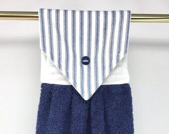Blue kitchen towels | Etsy