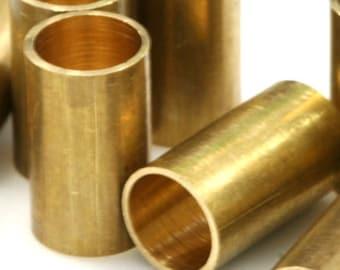1633 Raw brass tubes 8x60mm hole 7mm