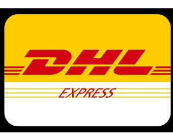 DHL Express shipping plus 7 usd 3-5 business days