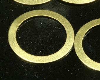 17 mm raw brass ring 500 pcs ,raw brass circle,raw brass charms ,raw brass findings 290R-210