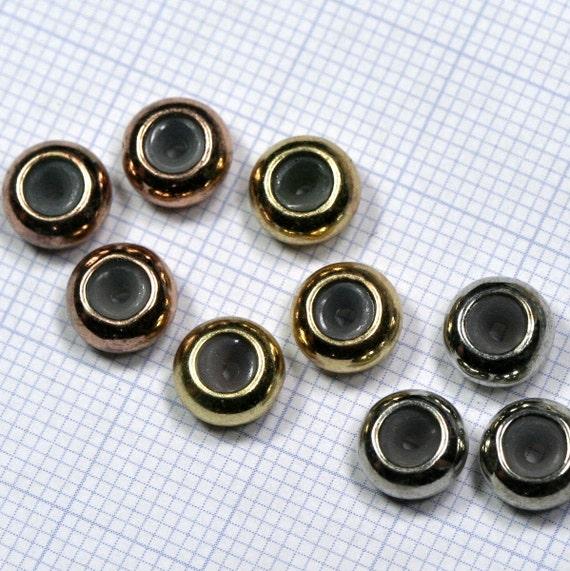 spacer bead raw brass 7x3,6 mm bab1.5 481