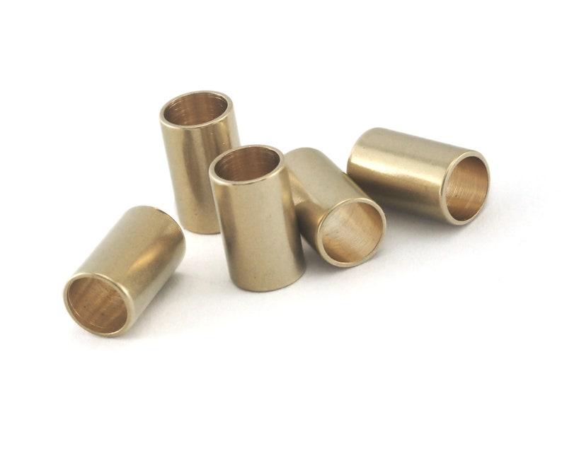 Raw Brass Tube 6x10mm ttt610 1642 hole 5mm