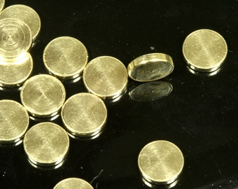 50 pcs 6 mm 1 mm thickness raw brass circle tag without hole raw brass charms ,raw brass findings tmlp 1465