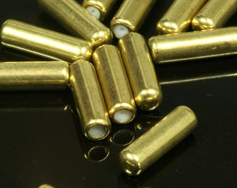 needle caps pin 20 pcs raw brass caps pendulum 125