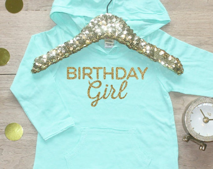 Birthday Girl Shirt / Baby Girl Clothing 1 Year Old Outfit Toddler Birthday Shirt Birthday Girl Outfit Hoodie Cake Smash Outfit One Shirt 13