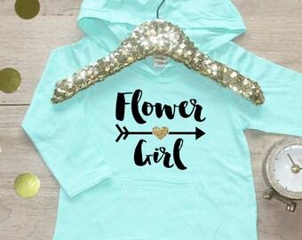 Flower Girl Shirt / Petal Patrol Shirt Flower Girl Outfit Wedding Rehearsal Outfit Wedding Shirt Wedding Clothes Cute Flower Girl Shirt 016