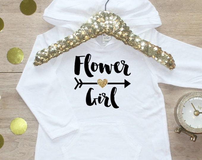Flower Girl Shirt / Petal Patrol Shirt Flower Girl Outfit Wedding Rehearsal Outfit Wedding Shirt Wedding Clothes Cute Flower Girl Shirt 016