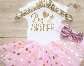Big Sister  Outfit Set / T-Shirt 049