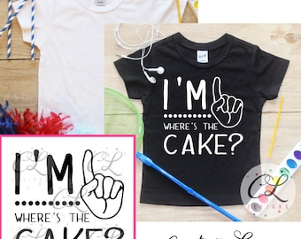 Birthday Boy Shirt Bodysuit / This Many Tee Baby Boy Clothes 1st Birthday Outfit 1 Birthday T-Shirt First One Year Old Cake Smash Toddler 93