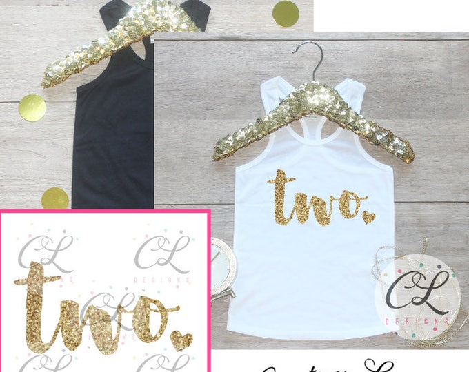 Birthday Girl Tank Top Shirt / Baby Girl Clothes 2 Year Old Outfit Second Birthday Shirt 2nd Birthday Girl Outfit Tshirt Two Wild Shirt 224