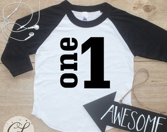 Birthday Boy Shirt Baby Clothes 1 Year Old Outfit First TShirt 1st Cake Smash One Raglan Toddler 019