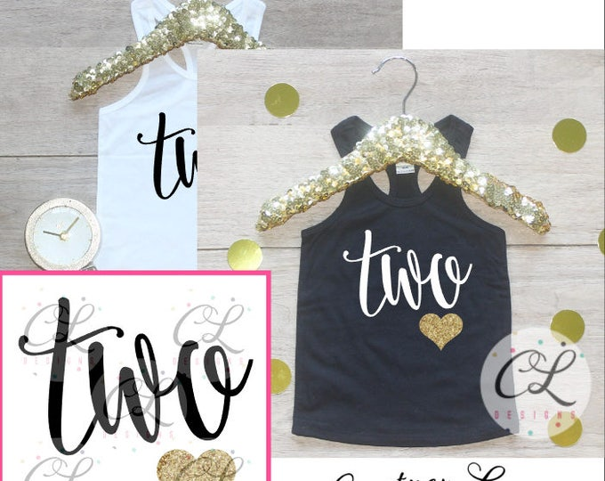 Birthday Girl Tank Top Shirt / Baby Girl Clothes 2 Year Old Outfit Second Birthday Shirt 2nd Birthday Girl Outfit Tshirt Two Wild Shirt 239