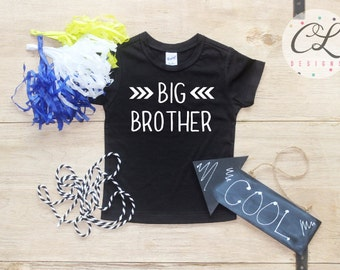 Big Brother shirt / Baby Boy Clothes Big Brother Arrow Shirt Little Brother Shirt Baby Announcement Shirt Toddler Baby Shower Gift Shirt 028