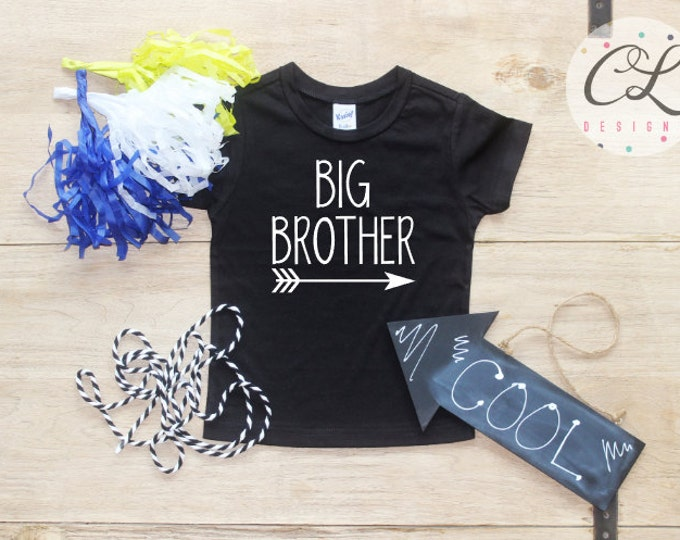 Big Brother shirt / Baby Boy Clothes Big Brother Arrow Shirt Little Brother Shirt Baby Announcement Shirt Toddler Baby Shower Gift Shirt 027
