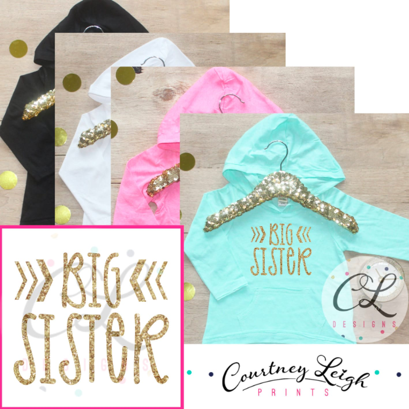 Big Sister Shirt Big Sister Announcement Shirt Big Sister Hoodie
