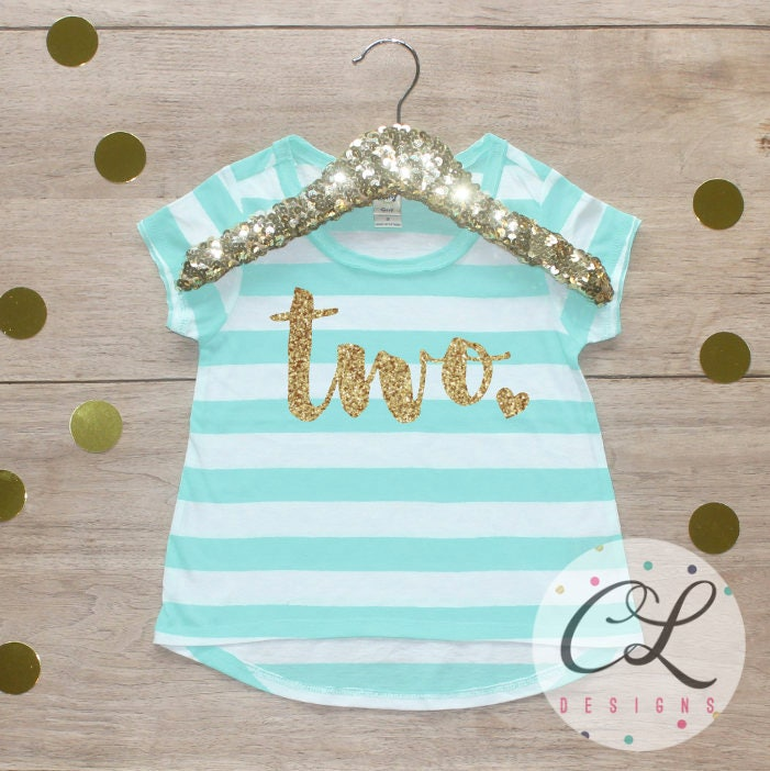 Birthday Girl Shirt 2 Year Old Outfit Second 2nd Short Sleeve Party T Two 224