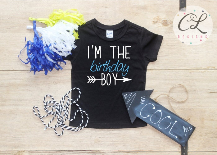 Birthday Boy Shirt Baby Clothes 1 Year Old Outfit First TShirt 1st Cake Smash One Bodysuit Toddler 216
