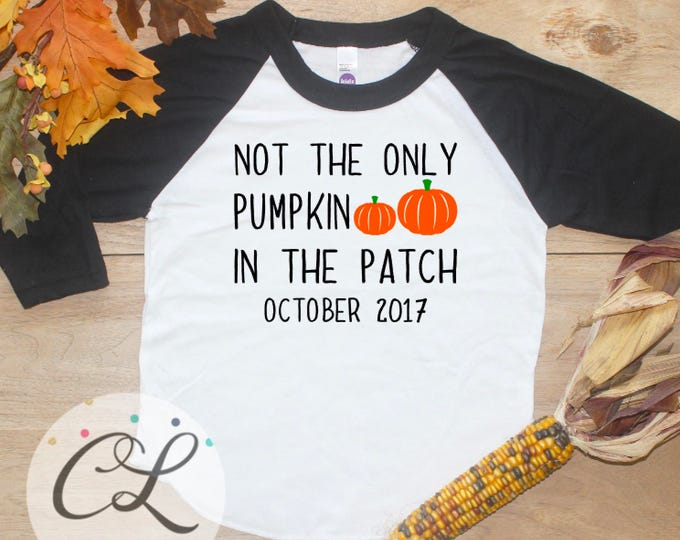 Big Brother Shirt / Big Sister Shirt Halloween Baby Announcement Growing Patch Halloween Big Brother Pregnancy Announcement Shirt Boy 262