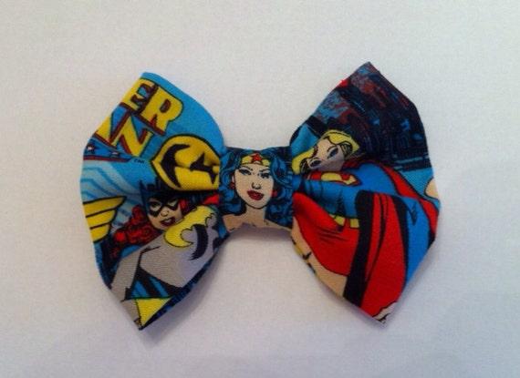 Super Girl and Wonder Woman Tie Men/'s Handmade BatGirl