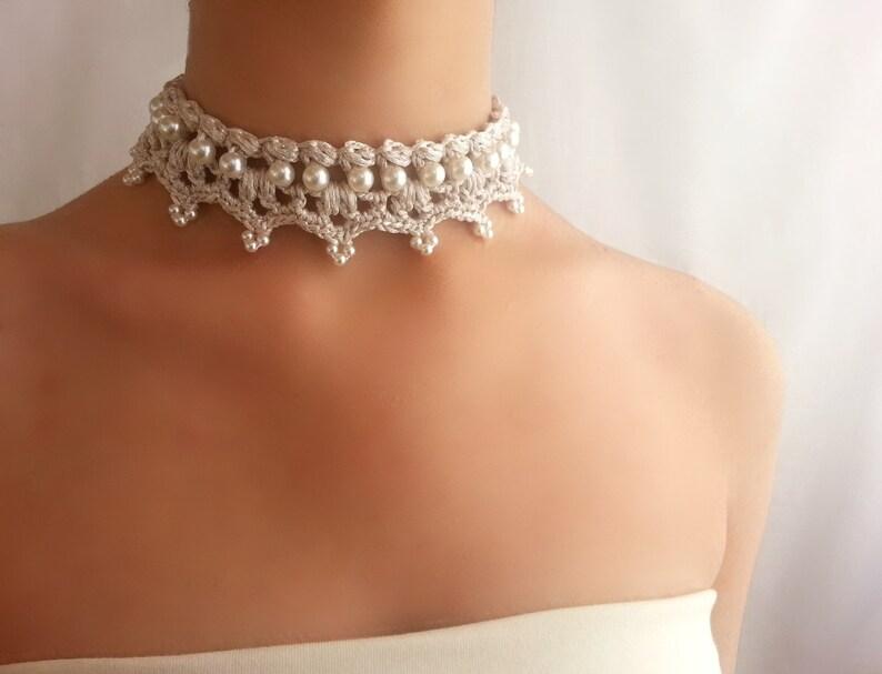 4c6ca5380339 Gargantilla perlas barroca Collar Renacimiento Collar