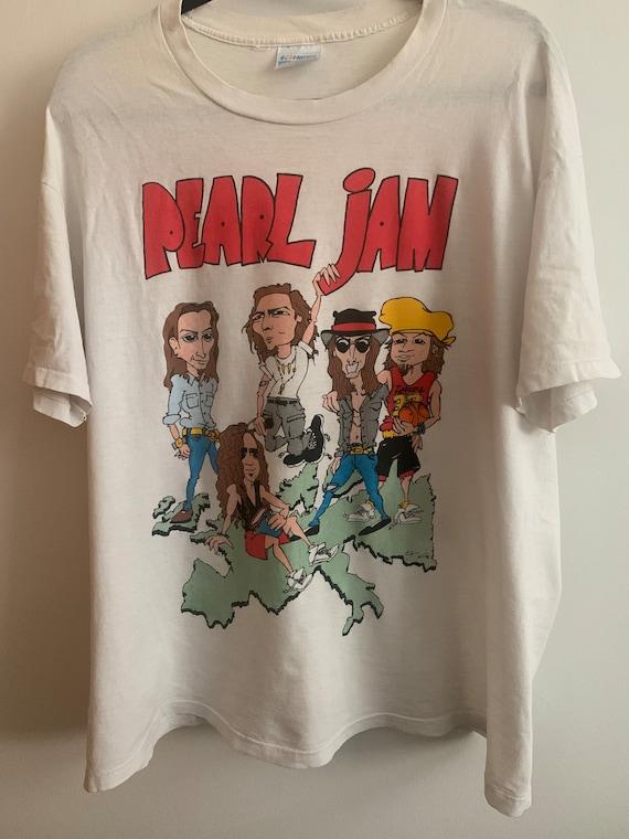 Vintage Pearl Jam World Jam concert tee rare 1992