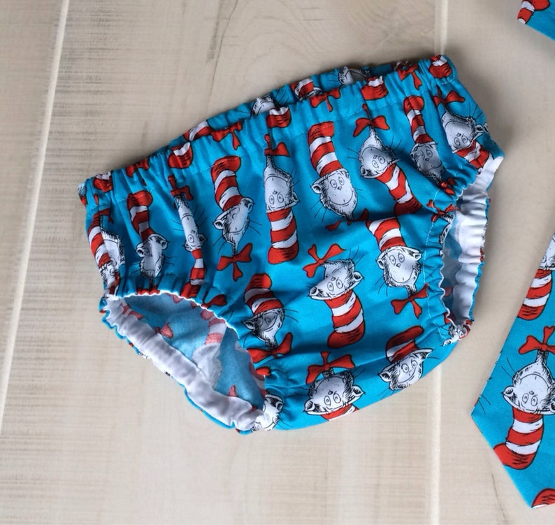 Dr Seuss Baby Boy Diaper Cover Cat In The Hat 1st Birthday