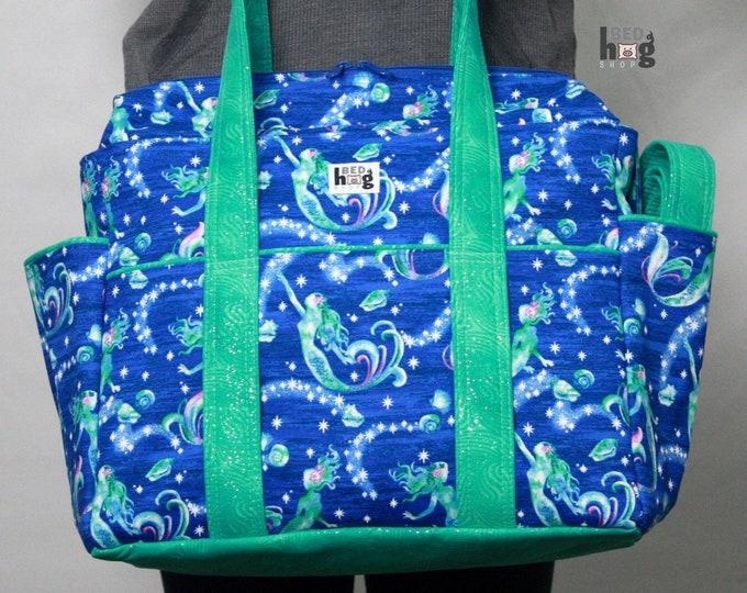 Mermaid XL Ultimate Diaper Bag | Tote Style Diaper Bag | Tote Bag