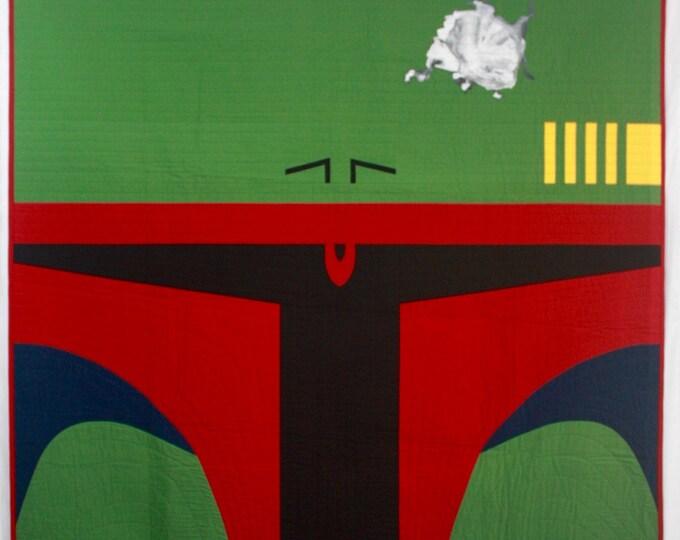 Star Wars Quilt | Boba Fett Quilt