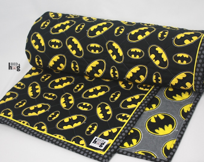 Batman Quilted Baby Blanket