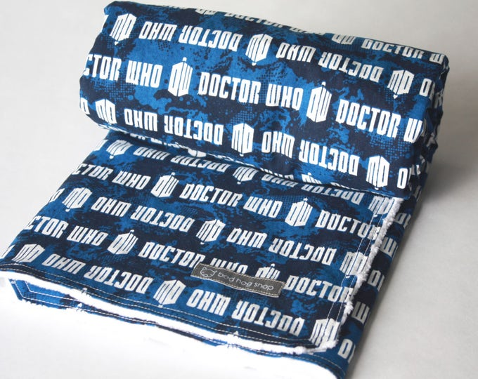Doctor Who Baby Blanket-MTO