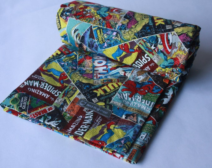 Marvel Comics Baby Blanket-MTO