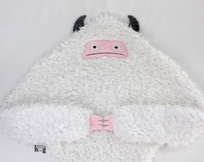 Yeti baby blanket | Abominable Snow Monster security blanket | Yeti security blanket | Yeti snuggle buddy