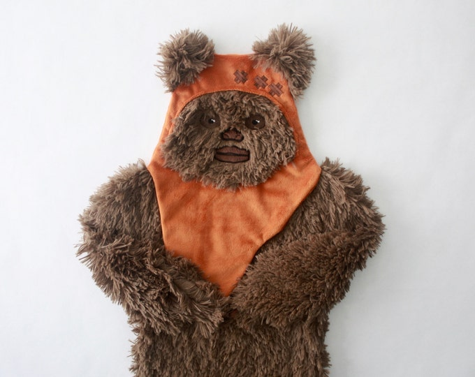 Star Wars baby blanket--Wicket security blanket--Ewok security blanket-MTO