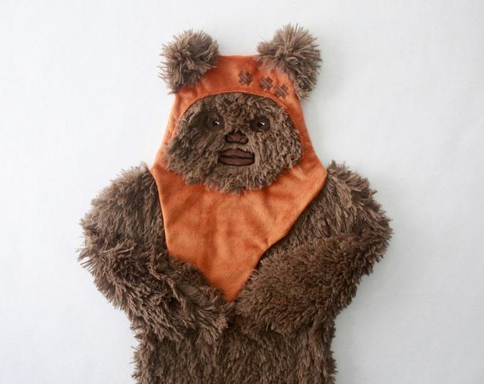Star Wars baby blanket--Wicket security blanket--Ewok security blanket-MTO
