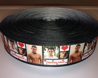 Channing Tatum ribbon for cake decorating or scrapbooking Magic Mike