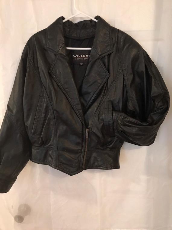 Wilsons Leather motorcycle / biker jacket