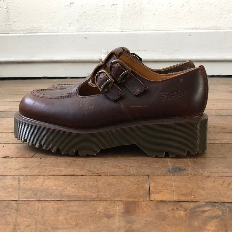 67806d14eb3d3 Vintage Made In England Chunky Mary Jane Buckle Dr. Martens