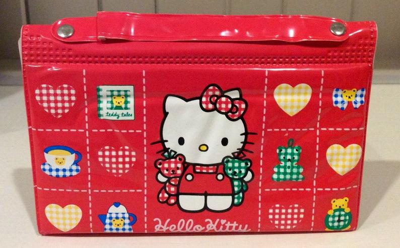 479556665 1994 Sanrio Hello Kitty Vinyl Stationary & Sticker Set | Etsy