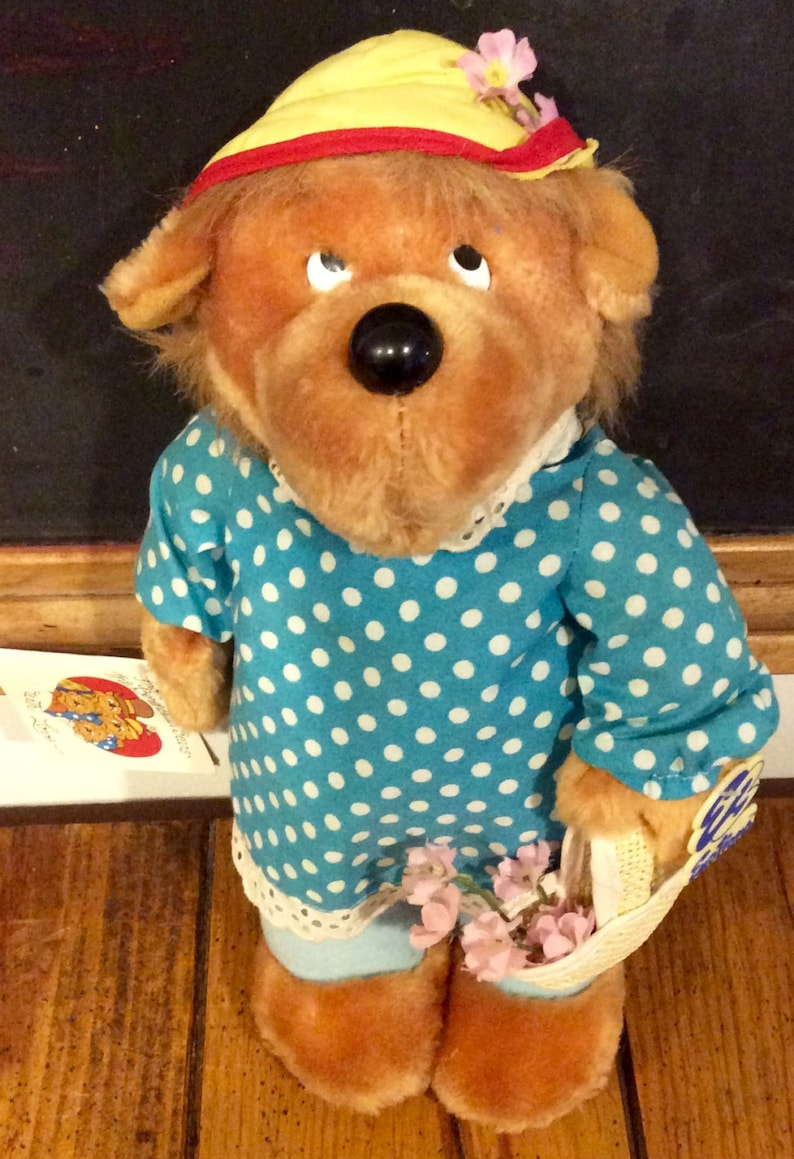 Emotions Mattel Teddy N Me Bear 1983 Vintage Good Luck New Dolls & Bears Other Dolls