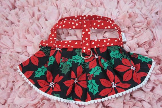Die Freude / / Weihnachtsstern Hundegeschirr Geschirr | Etsy