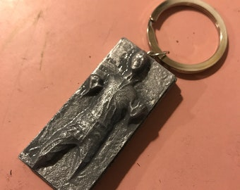 Han Solo carbonite keychain