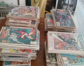 Great selection of comics copper age 80s 90s Carded!  No junk!  200 ct