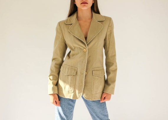 Vintage DKNY Women/'s Button Down Blazer