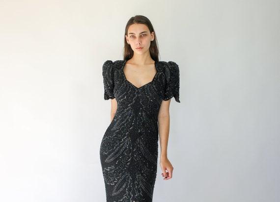 wedding Batwing Sleeve Dress Disco Evening Party Cocktail dress 80/'s Vibrant Dress