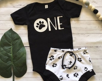 NEW for Summer!! Puppy Party/First Birthday Set/Baby Shorties/Toddler Shorties